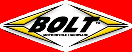 Nata nel 2000 dalla passione dei propri titolari per tutto ciò che ruota attorno alla moto, Bolt produce e distribuisce kit di fissaggio come perni, bulloni, rondelle per tutte le moto da motocross, enduro. Ogni confezione e prodotto è accuratamente studiato analizzando l'originale per migliorarne qualità e caratteristiche. PRO PACK e TRACK PACK sono i kit più venduti di sempre.